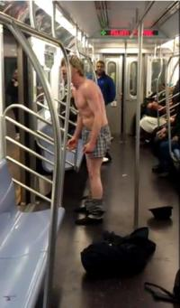 crazy-subway-man-on-NYC-subway