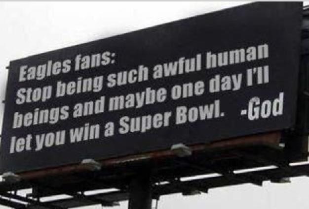 Eagles Fans Suck 5