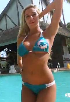 Dolphins Cheerleader CSC